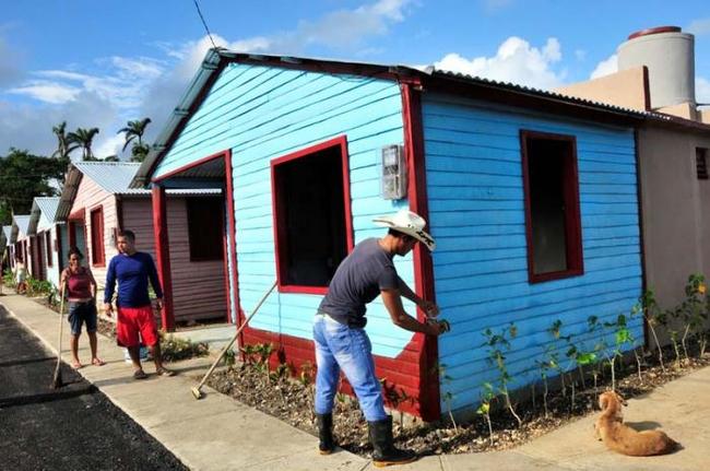 Rebuilding in Sancti Spiritus province