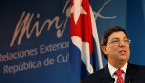 Brunop Rodriguez, Cuban Foreign Secretary denounced the new US measures at the UN