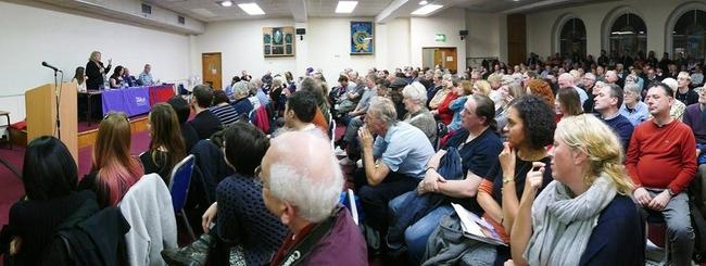 Manchester CSC Aleida Guevara event, November 2017
