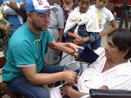 Dr Enmanuel Vigil Fonseca working in Ecuador following the 2016 earthquake