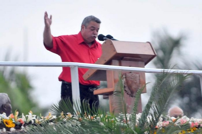 Ulises Guilarte de Nacimiento, secretary general of the Cuban Workers Federation