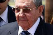 Raul Castro arriving in New York