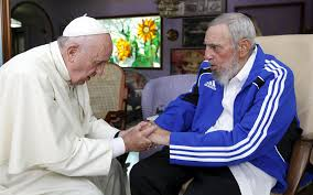 The Pope met with former president Fidel Castro during his visit