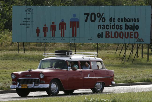 Over 70% of Cubans were born under the blockade