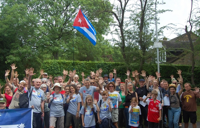 The 2014 Walk for Cuba