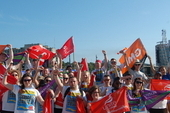 Young Trade Unionists' on May Day in Havana