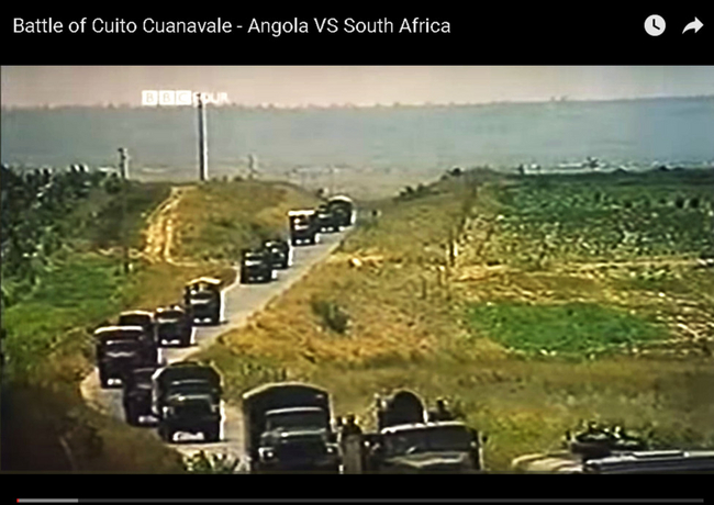 The Battle of Cuito Cuanavale is credited with ushering in the first round of trilateral negotiations, which secured the withdrawal of Cuban and South African troops from Angola and Namibia.