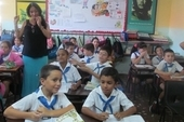 The NUT delegation visited a range of schools, including the Cesáreo Fernández Municipio Playa Primary School in Havana