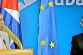 High Representative of the Union for Foreign Affairs and Security Policy, Federica Mogherini, and Cuban Foreign Minister Bruno Rodríguez
