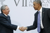 Raul Castro and Barack Obama began the normalisation of relations process