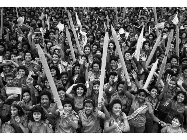 Rally of the Pencils in Havana, 1961