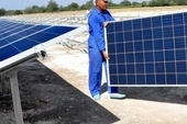 Once operational, the four solar parks will represent a saving of some 21,000 tons of fossil fuel for the country
