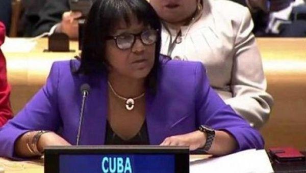 Cuban Permanent Representative to the U.N. Anayansi Rodriguez