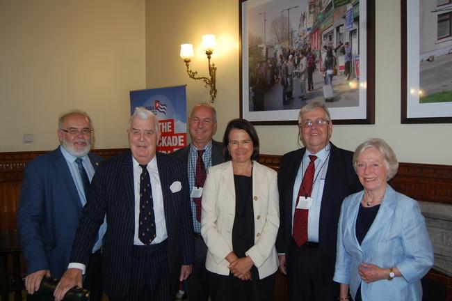 Francie Molloy MP, Lord Kilclooney, Rob Miller, Catherine West MP, Carlos Alzugaray & Baroness Hopper