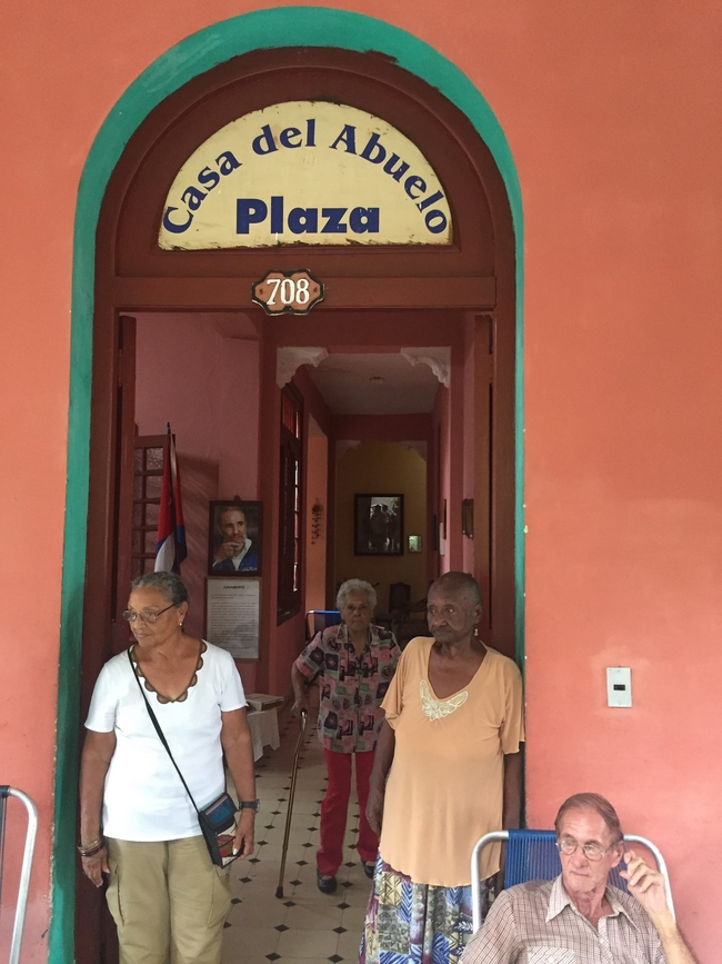 CSC news: Castro's casa: social work lessons from Cuba