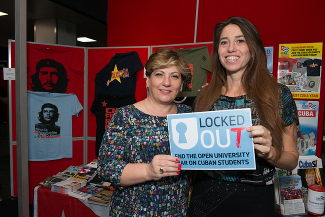Emily Thornberry MP, Shadow Foreign Secretary and Natasha Hickman, CSC Communications Manager