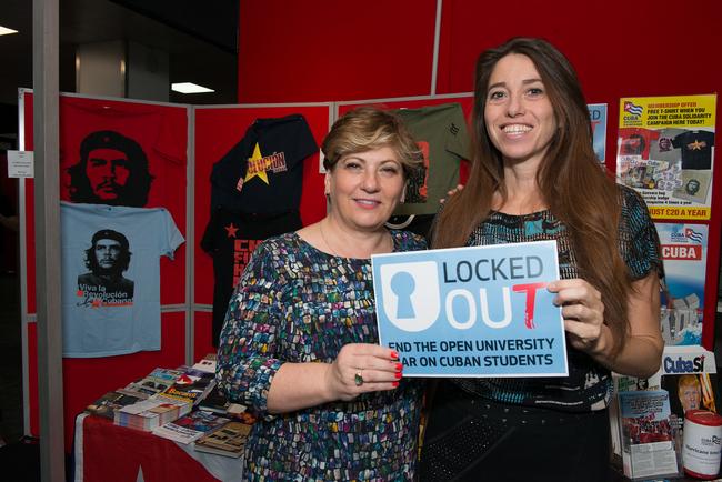 Emily Thornberry MP, Shadow Foreign Secretary and Natasha Hickman, CSC Communications Manager