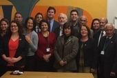 Cuban MPs meet with Labour MPs in Parliament