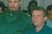 Phil Lenton pictured with Fidel Castro