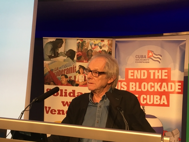 Ken Loach was among the speakers at Latin America 2017 Conference
