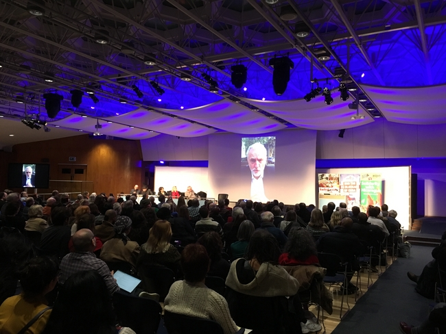 Jeremy Corbyn sent a video message to Latin America Conference 2017