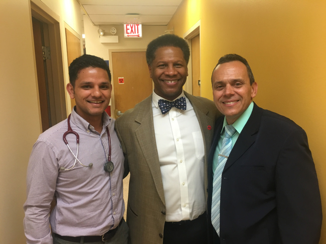 Doctors from Cuba and Chicago
