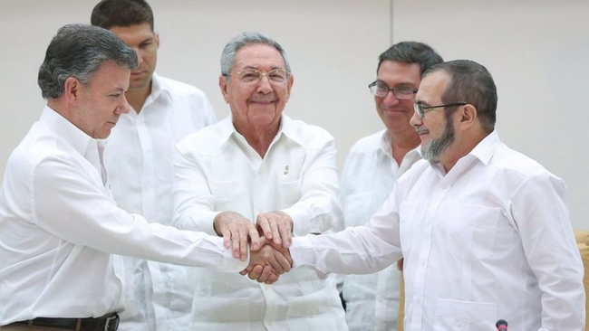 Cuba played a leading in the historic peace deal signed between FARC and the Colombian government in 2016