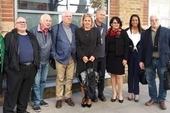 Ana Teresita González, Deputy Foreign Minister and H. E. Teresita Vicente, Cuban Ambassador, meet with CSC Executive Committee members