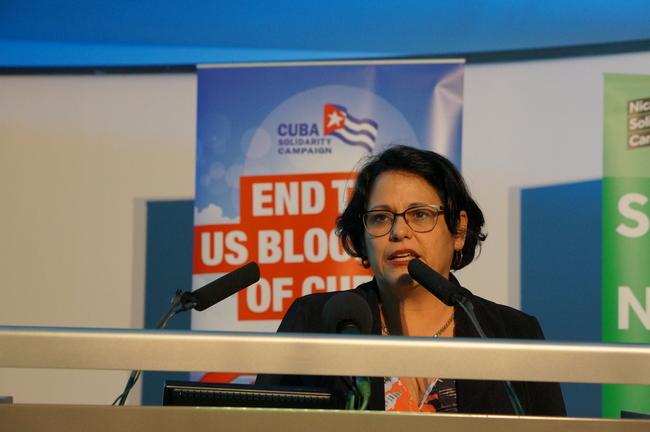 Teresita Vicente, Cuban Ambassador