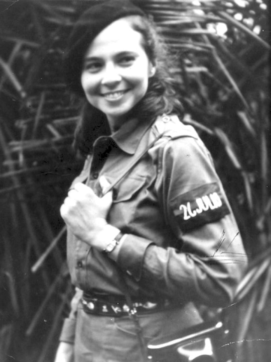 Vilma Espin founded the Federation of Cuban Women in 1960