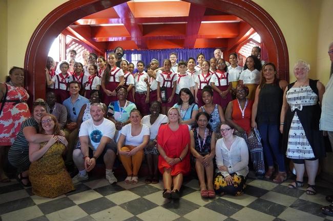 The NEU delegation visited Cuba in October half term 2018