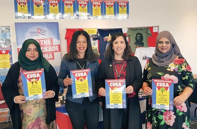 Apsana Begum, Claudia Webb, Labour NEC, Yasmine Dar, Labour NEC, and Fazila Loonat