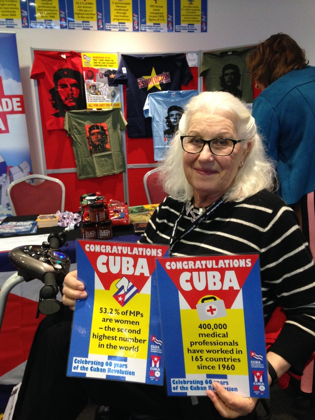 This Labour women delegate's brother-in-law's life was saved by a Cuban medic when he was working in Angola