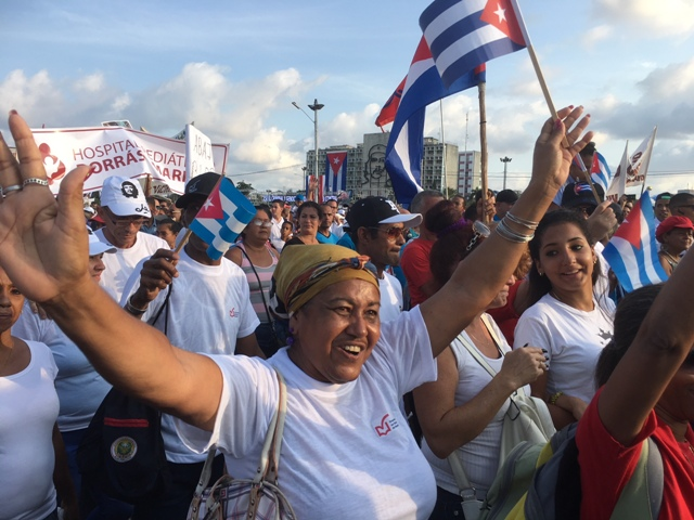 Join a million Cubans at the May Day rally in Revolution Square