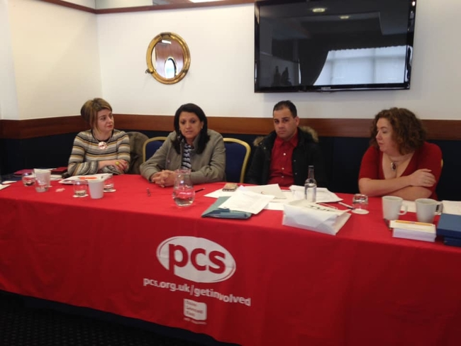 Speaking at the PCS North West Women's Network