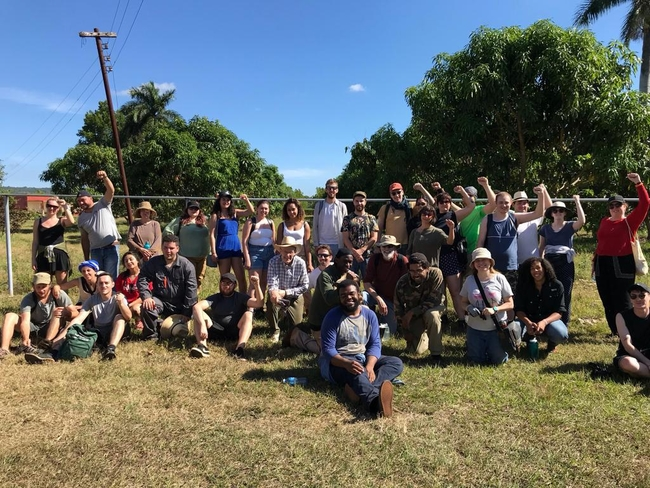 Group photo following pruning avocado trees
