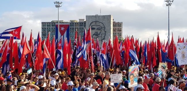 May Day rally, Havana