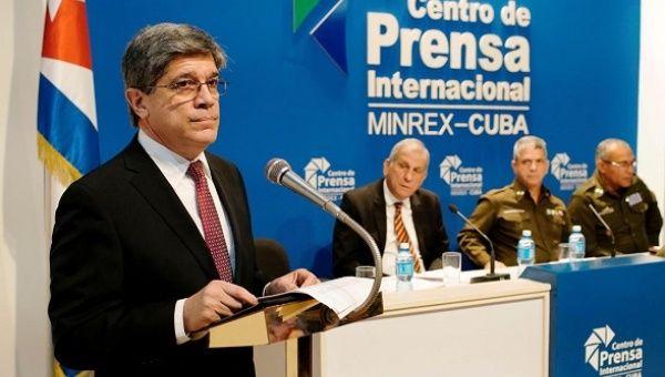 Cuba's Carlos Fernandez de Cossio said