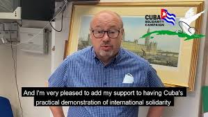 Grahame Morris MP, Chair of the All Party Parliamentary Group on Cuba