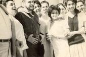 Che Guevara with the medical brigade in Sidi Bel Abbes, Algeria