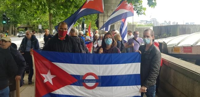 East London CSC members on the caravan