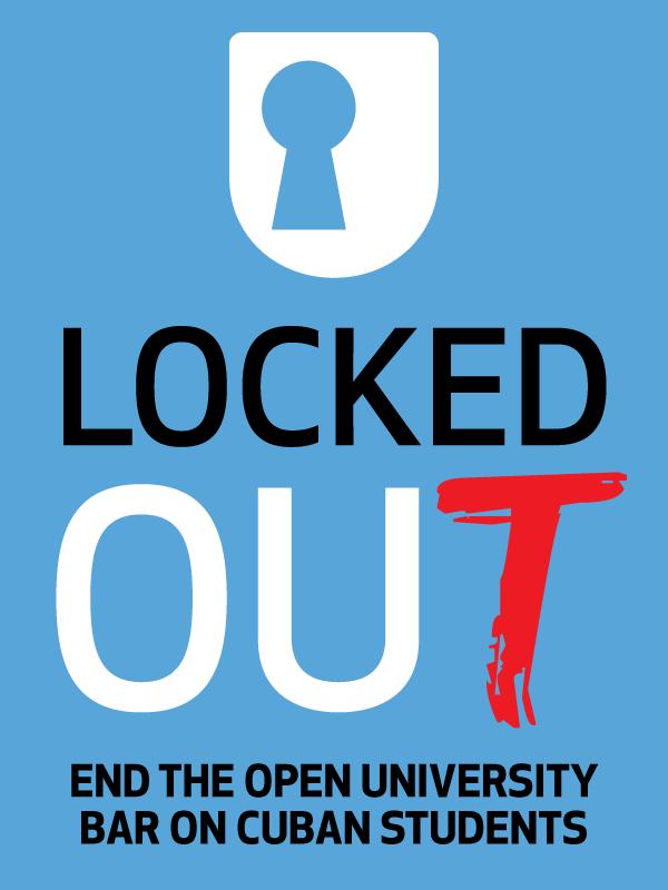 Help end the Open University bar on Cuban students