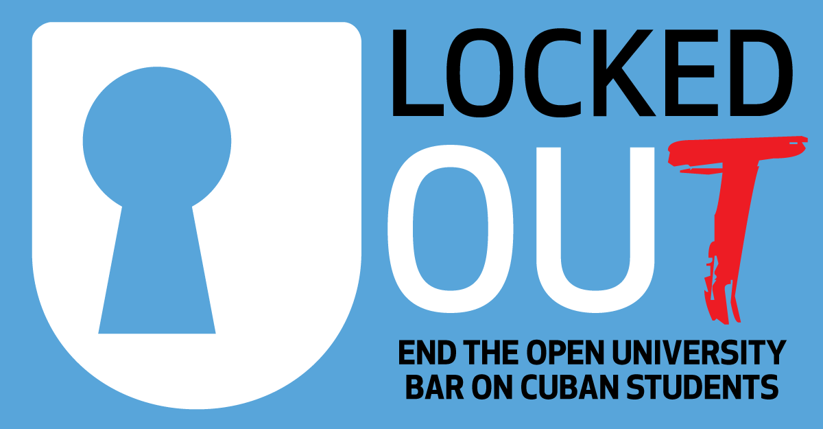 Help end the Open University bar on Cuban students
