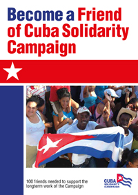 Friend of Cuba Solidarity Campaign