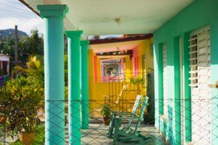 Example of homestays in Vinales